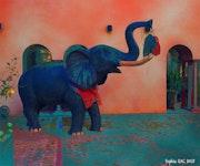Un p'tit éléphant….