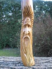 Petit wood spirit. Thierry-Sculptures