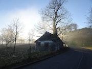 Paysage d'hiver-Berne-Suisse.