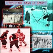 L'évolution dans le sport olympique.
