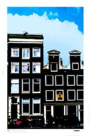 Amsterdam façades.