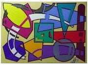 Partouze Géométrique… Mais ! ! ! En couleur.