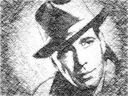 Humphray Bogart. Raymond Marcel Depienne