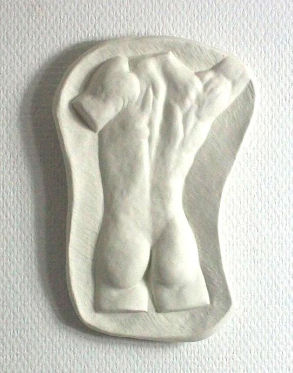 Mänlicher Rücken-Akt. Angelika Sorg Angelika Sorg