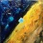 Le caillou bleu. Marie-Claude Lambert