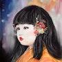 Petite fleur du Japon. Chantal Gilbert