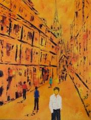 Rue saint romain.