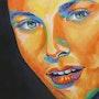 Portrait Grace Kelly. Olivier Boutin