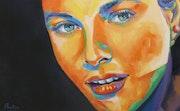 Portrait Grace Kelly.