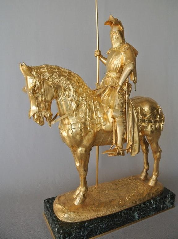 Louis d'Orléans. Emmanuel Frémiet Marc Menzoyan Antiquités
