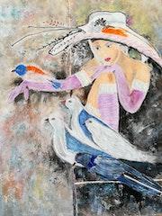 Glamour et pigeons.