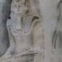 Statue Pharao. Illafre.