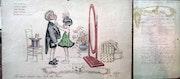 Menu illustré par Georges Redon 1925. Franck-Luc Dancelme