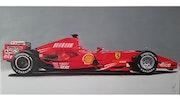 Ferrari f1 2008.