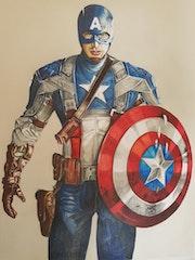 Capitan America marvel avengers.
