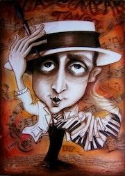 Homenaje a Matos Rodriguez, autor de «la cumparsita». Jecrop