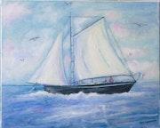 Le bateau de pêche..