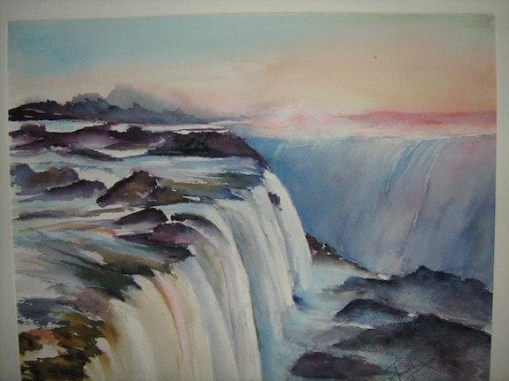 Cascades du Niagara. Daniele Jondeau Dany