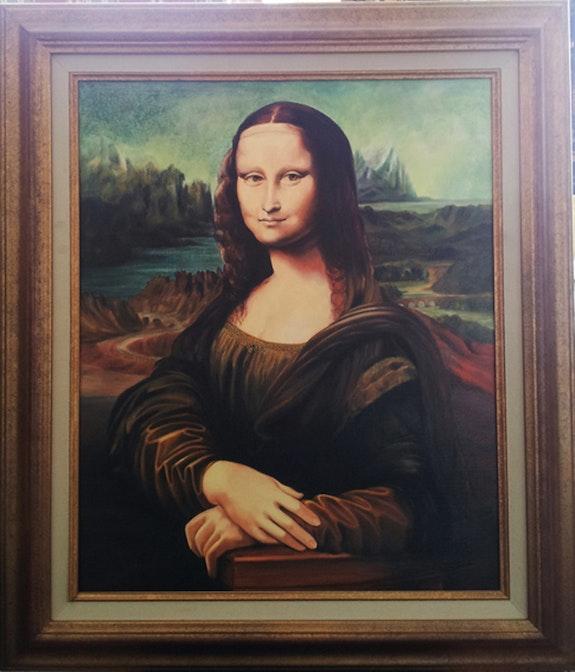 Mona lisa. Copie De L. De Vinci Daniel Moncla