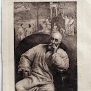 Maurice Denis : portrait de Puvis de Chavannes. Historien d'art, Archéologue; Chercheur Free-L.