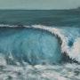 La vague. Lucienne Dupont