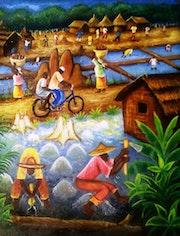 Kouwakoukro (travaux champêtre). Sroboua Amani