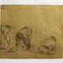 Maximilien Luce : saisie d'attitudes d'ouvriers. Verso 1.. Historien d'art, Archéologue; Chercheur Free-Lance (Er)