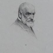 Frédéric A. Laguillermie, Portrait de Léon Bonnat.. Historien d'art, Archéologue; Chercheur Free-L.