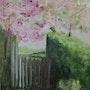 Le printemps au jardin. Lucienne Dupont