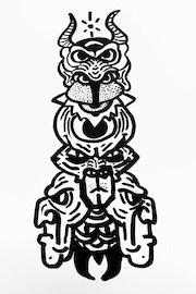 Le grand Totem. Simsim