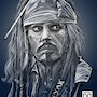 Capitaine jack… Sparrow. Dixit Graphiste