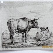 Karel Dujardin : vaches. Historien d'art, Archéologue; Chercheur Free-L.