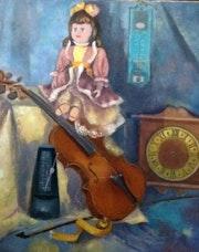 La poupée et le violon.