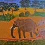 L'éléphant. Ilham Balarh