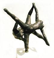 Ekstase, (1997) Bronze, Ansicht 3. Hajo Horstmann