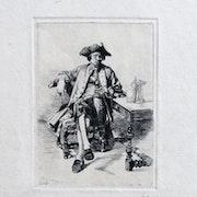 Ernest meissonier : Le grand fumeur, 1848.. Historien d'art, Archéologue; Chercheur Free-L.