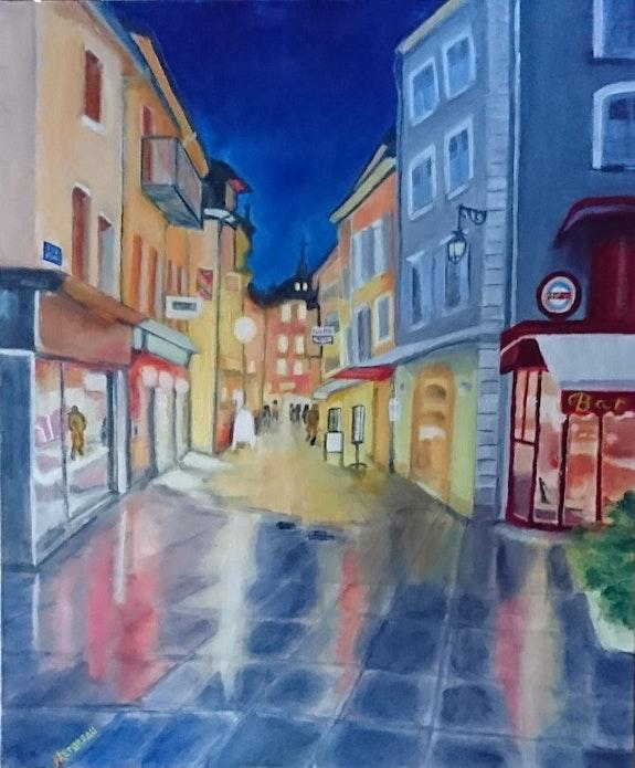 Rue de Gap. Nicole Retureau Nicole Retureau