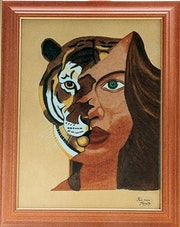 La Femme tigresse.