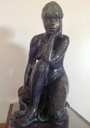 Aghate statue Nu d'art décoration. Dem'art