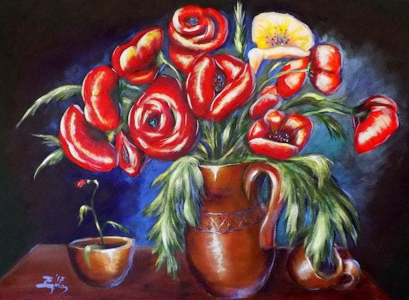 Rustic Poppies. Nick Ercsei Nick Ercsei
