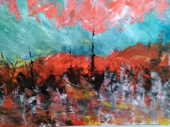 Nube Roja. Carmen Espinosa Carmen Spinoza