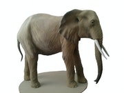 Elefante de cartón piedra. Rico