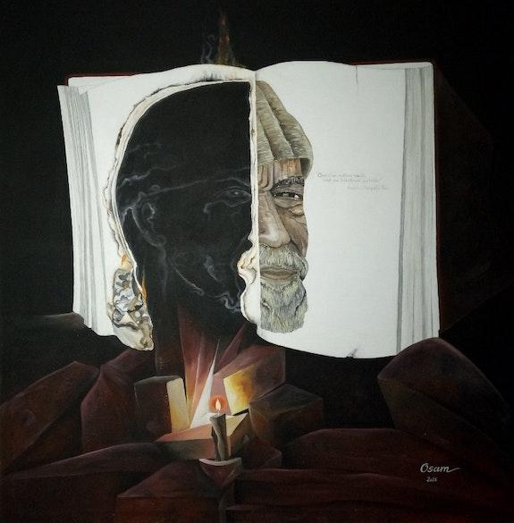Le portrait brûlé.. Ouédraogo Wend-La Sida Samuel (Osam) Osam