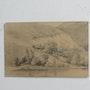 Jean-Baptiste Camille corot : Maisons, montagne, rivière.. Historien d'art, Archéologue; Chercheur Free-L.