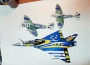 Mirage 2000 c est spitfire 340 sqd.