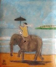 L'éléphant.
