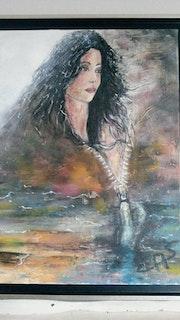 La dame du lac. Mounette