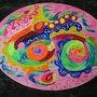 Méditation colorée pleine de fantaisie. Marie-Noëlle Dérobert
