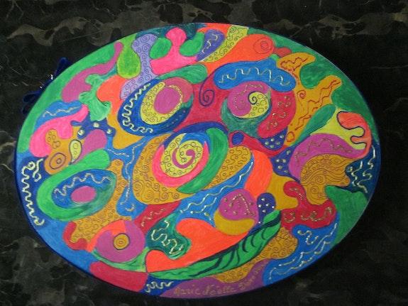 Rêverie pleine de couleurs vives et de fantaisie. Marie Noëlle Dérobert Marie-Noëlle Dérobert