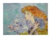 Jeune fille aux fleurs.